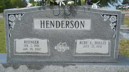 HENDERSON, RISINGER - Union County, Louisiana   RISINGER HENDERSON - Louisiana Gravestone Photos