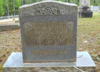 HENDERSON, SARAH JANE - Union County, Louisiana   SARAH JANE HENDERSON - Louisiana Gravestone Photos