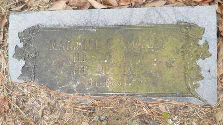 HOLLEY, MARSHEL C - Union County, Louisiana | MARSHEL C HOLLEY - Louisiana Gravestone Photos