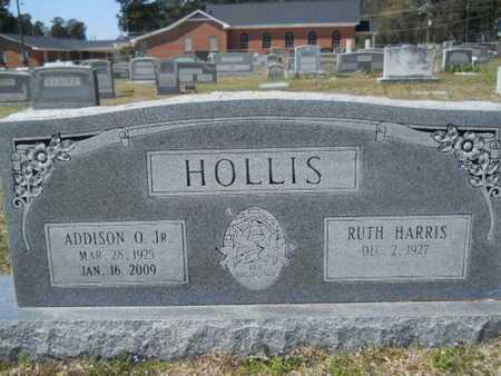 HOLLIS, ADDISON O, JR - Union County, Louisiana   ADDISON O, JR HOLLIS - Louisiana Gravestone Photos