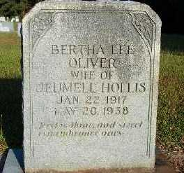 HOLLIS, BERTHA LEE - Union County, Louisiana | BERTHA LEE HOLLIS - Louisiana Gravestone Photos