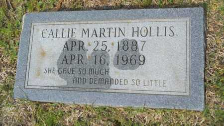 HOLLIS, CALLIE - Union County, Louisiana | CALLIE HOLLIS - Louisiana Gravestone Photos