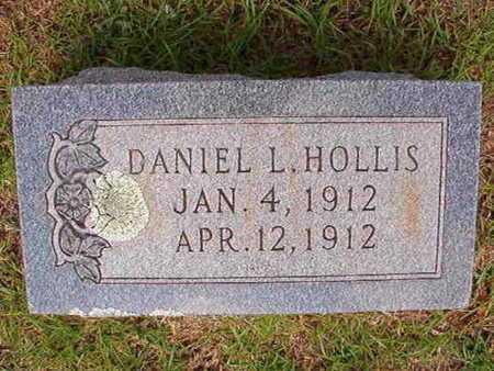 HOLLIS, DANIEL L - Union County, Louisiana | DANIEL L HOLLIS - Louisiana Gravestone Photos