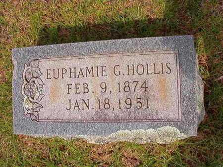 HOLLIS, EUPHAMIE - Union County, Louisiana   EUPHAMIE HOLLIS - Louisiana Gravestone Photos