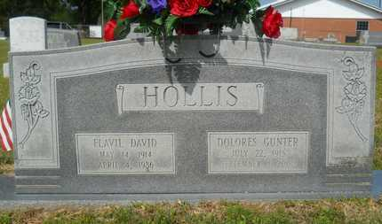 GUNTER HOLLIS, DOLORES - Union County, Louisiana | DOLORES GUNTER HOLLIS - Louisiana Gravestone Photos