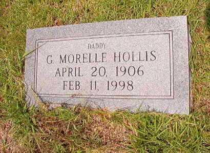 HOLLIS, G MORELLE - Union County, Louisiana | G MORELLE HOLLIS - Louisiana Gravestone Photos