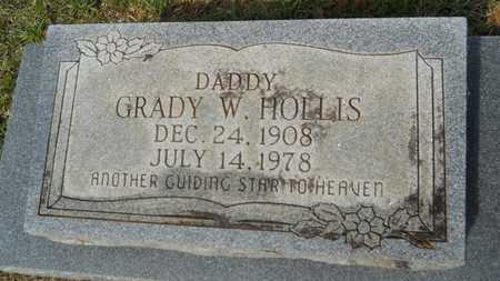 HOLLIS, GRADY W (CLOSE UP) - Union County, Louisiana | GRADY W (CLOSE UP) HOLLIS - Louisiana Gravestone Photos