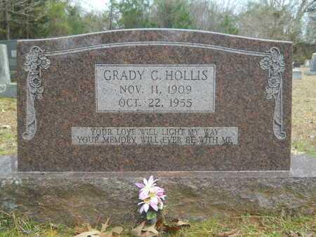 HOLLIS, GRADY C - Union County, Louisiana | GRADY C HOLLIS - Louisiana Gravestone Photos