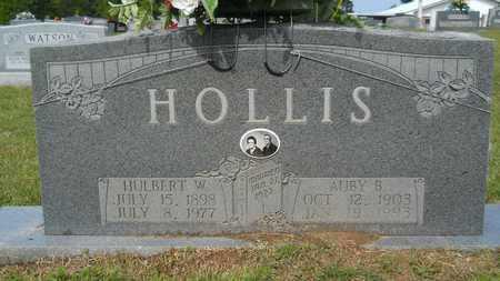 HOLLIS, AUBY B - Union County, Louisiana   AUBY B HOLLIS - Louisiana Gravestone Photos