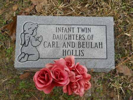 HOLLIS, INFANT TWIN DAUGHTER - Union County, Louisiana | INFANT TWIN DAUGHTER HOLLIS - Louisiana Gravestone Photos