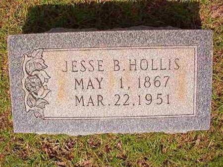 HOLLIS, JESSE B - Union County, Louisiana | JESSE B HOLLIS - Louisiana Gravestone Photos