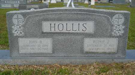 HOLLIS, RUTHIE J - Union County, Louisiana   RUTHIE J HOLLIS - Louisiana Gravestone Photos