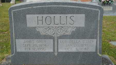 HOLLIS, JAMES OREN - Union County, Louisiana | JAMES OREN HOLLIS - Louisiana Gravestone Photos