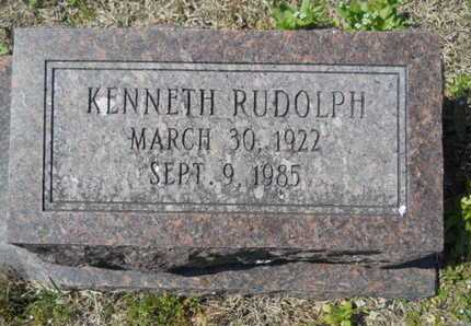 HOLLIS, KENNETH RUDOLPH (CLOSE UP) - Union County, Louisiana | KENNETH RUDOLPH (CLOSE UP) HOLLIS - Louisiana Gravestone Photos