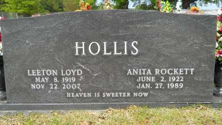 HOLLIS, LEETON LOYD - Union County, Louisiana   LEETON LOYD HOLLIS - Louisiana Gravestone Photos