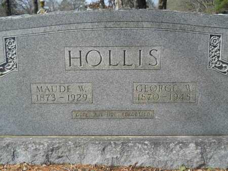 HOLLIS, GEORGE W - Union County, Louisiana   GEORGE W HOLLIS - Louisiana Gravestone Photos