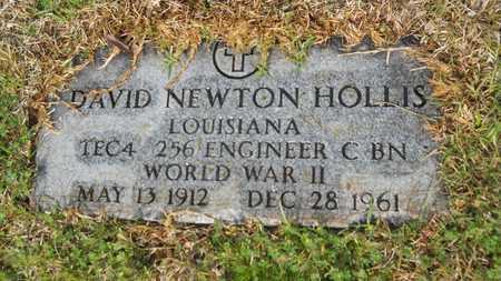 HOLLIS, DAVID NEWTON (VETERAN WWII) - Union County, Louisiana | DAVID NEWTON (VETERAN WWII) HOLLIS - Louisiana Gravestone Photos