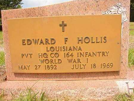HOLLIS, EDWARD F (VETERAN WWI) - Union County, Louisiana | EDWARD F (VETERAN WWI) HOLLIS - Louisiana Gravestone Photos