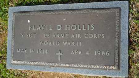 HOLLIS, FLAVIL D (VETERAN WWII) - Union County, Louisiana | FLAVIL D (VETERAN WWII) HOLLIS - Louisiana Gravestone Photos