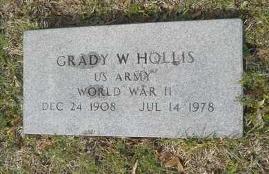 HOLLIS, GRADY W (VETERAN WWII) - Union County, Louisiana | GRADY W (VETERAN WWII) HOLLIS - Louisiana Gravestone Photos