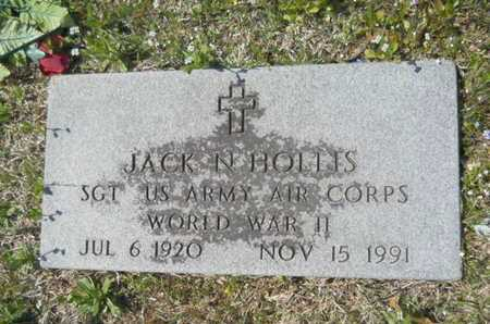 HOLLIS, JACK N (VETERAN WWII) - Union County, Louisiana | JACK N (VETERAN WWII) HOLLIS - Louisiana Gravestone Photos