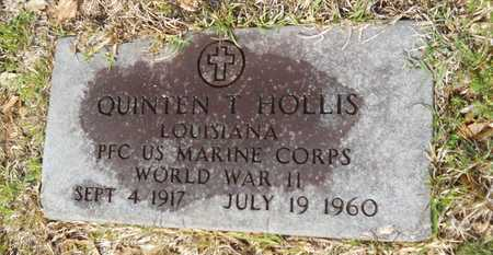 HOLLIS, QUINTEN T (VETERAN WWII) - Union County, Louisiana | QUINTEN T (VETERAN WWII) HOLLIS - Louisiana Gravestone Photos