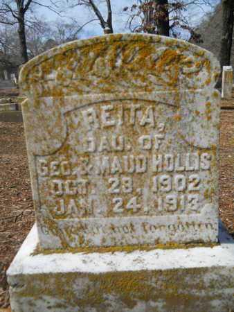 HOLLIS, REITA - Union County, Louisiana | REITA HOLLIS - Louisiana Gravestone Photos