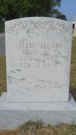 HOLLIS, SALLIE - Union County, Louisiana   SALLIE HOLLIS - Louisiana Gravestone Photos