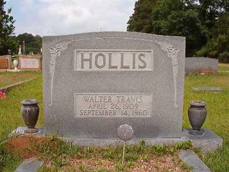 HOLLIS, WALTER TRAVIS - Union County, Louisiana | WALTER TRAVIS HOLLIS - Louisiana Gravestone Photos