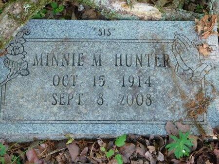 HUNTER, MINNIE M - Union County, Louisiana   MINNIE M HUNTER - Louisiana Gravestone Photos