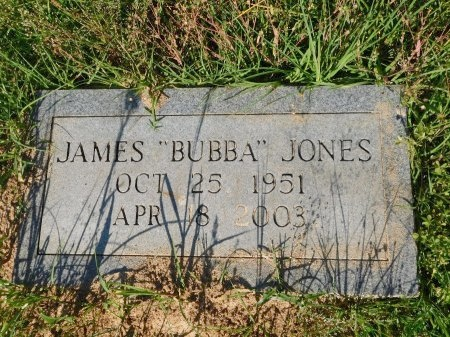 "JONES, JAMES ""BUBBA"" - Union County, Louisiana   JAMES ""BUBBA"" JONES - Louisiana Gravestone Photos"