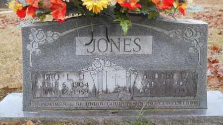 JONES, AUDREY H - Union County, Louisiana | AUDREY H JONES - Louisiana Gravestone Photos