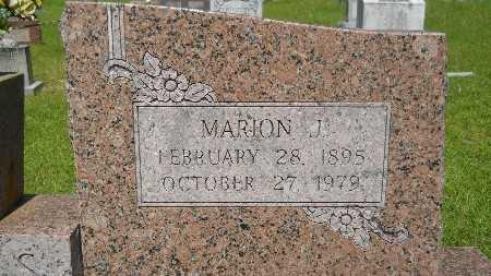 JONES, MARION JACKSON (CLOSE UP) - Union County, Louisiana | MARION JACKSON (CLOSE UP) JONES - Louisiana Gravestone Photos