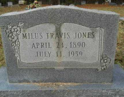 JONES, MILUS TRAVIS - Union County, Louisiana | MILUS TRAVIS JONES - Louisiana Gravestone Photos