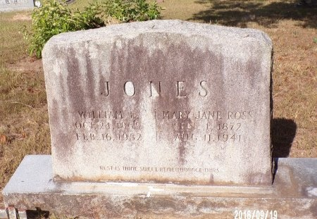 JONES, MARY JANE - Union County, Louisiana | MARY JANE JONES - Louisiana Gravestone Photos