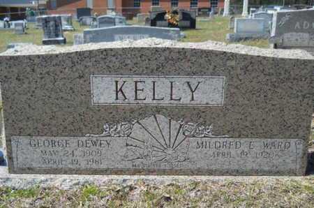 WARD KELLY, MILDRED E - Union County, Louisiana | MILDRED E WARD KELLY - Louisiana Gravestone Photos