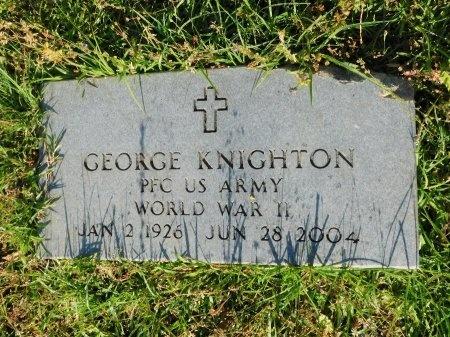 KNIGHTON, GEORGE  (VETERAN WWII) - Union County, Louisiana | GEORGE  (VETERAN WWII) KNIGHTON - Louisiana Gravestone Photos