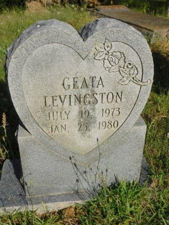 LEVINGSTON, GEATA - Union County, Louisiana   GEATA LEVINGSTON - Louisiana Gravestone Photos