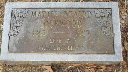 LOCKWOOD, MATTIE - Union County, Louisiana | MATTIE LOCKWOOD - Louisiana Gravestone Photos