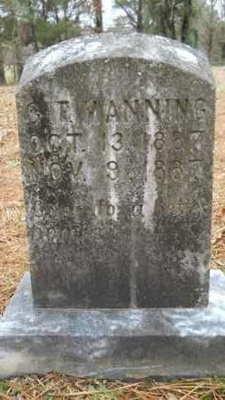 MANNING, G T - Union County, Louisiana | G T MANNING - Louisiana Gravestone Photos
