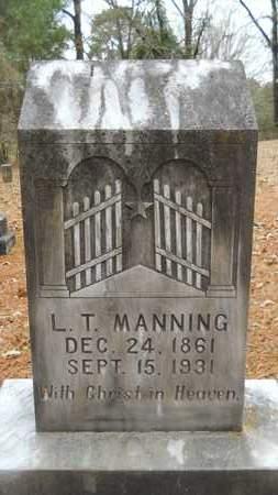 MANNING, L T - Union County, Louisiana   L T MANNING - Louisiana Gravestone Photos