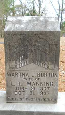 MANNING, MARTHA J - Union County, Louisiana | MARTHA J MANNING - Louisiana Gravestone Photos