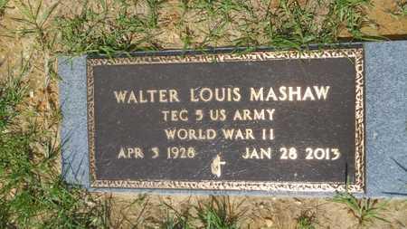 MASHAW, WALTER LOUIS (VETERAN WWII) - Union County, Louisiana   WALTER LOUIS (VETERAN WWII) MASHAW - Louisiana Gravestone Photos