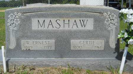 MASHAW, WILLIAM ERNEST - Union County, Louisiana | WILLIAM ERNEST MASHAW - Louisiana Gravestone Photos