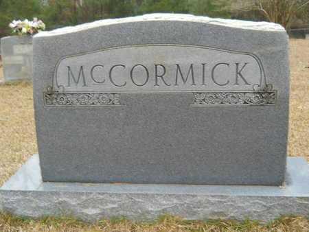 MCCORMICK, FAMILY MARKER - Union County, Louisiana | FAMILY MARKER MCCORMICK - Louisiana Gravestone Photos