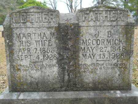 MCCORMICK, MARTHA M - Union County, Louisiana | MARTHA M MCCORMICK - Louisiana Gravestone Photos
