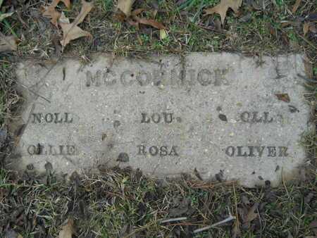 MCCORMICK, LOU - Union County, Louisiana   LOU MCCORMICK - Louisiana Gravestone Photos
