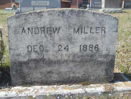 MILLER, ANDREW - Union County, Louisiana   ANDREW MILLER - Louisiana Gravestone Photos