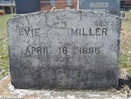 MILLER, EVIE (CLOSE UP) - Union County, Louisiana   EVIE (CLOSE UP) MILLER - Louisiana Gravestone Photos