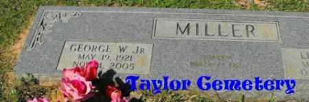MILLER, GEORGE W, JR - Union County, Louisiana   GEORGE W, JR MILLER - Louisiana Gravestone Photos